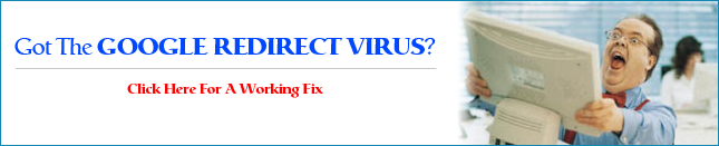 Help me get rid of redirect virus
